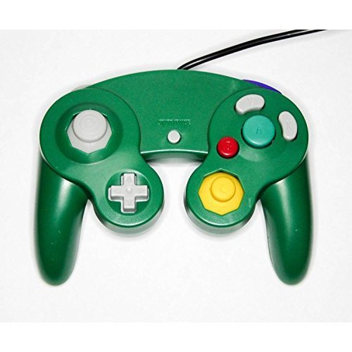 Nintendo GameCube & Wii Replacement Controller Green By Mars Devices