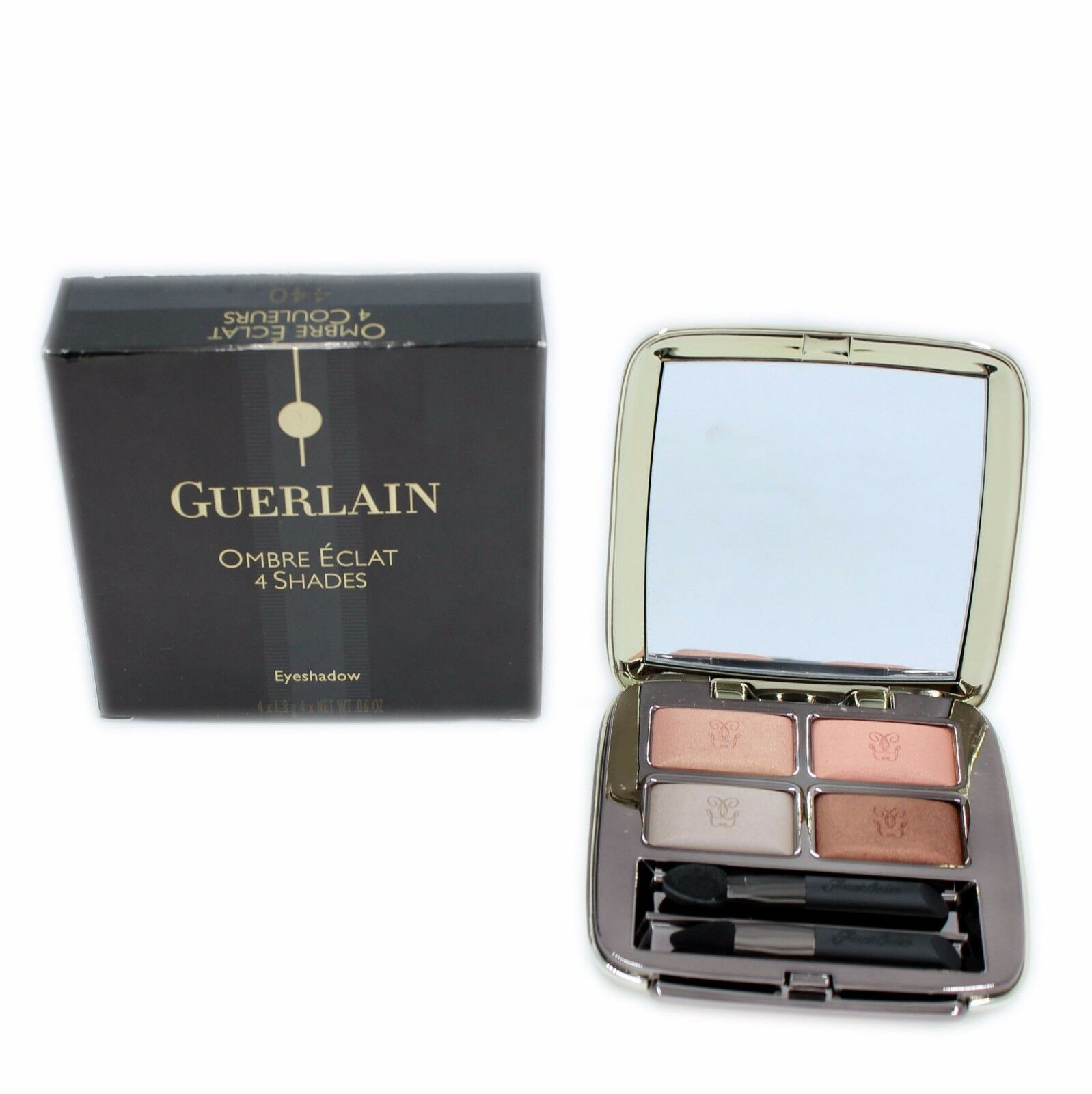 Primary image for GUERLAIN OMBRE ECLAT 4 SHADES EYESHADOW 4X1.8G #440-CORAIL AMBRE NIB-G40607