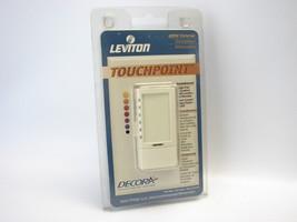 Leviton Decora 602-TP106-1LA 600W Incandescent Dimmer Single Pole Almond... - $19.79