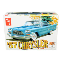 Skill 2 Model Kit 1957 Chrysler 300C 1/25 Scale Model by AMT AMT1100M - $61.28