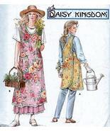 Simplicity Pattern 7481 Apron Daisy Kingdom Sewing Pattern - $74.24