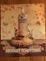 Absolut Tzotchke Original Ad - $3.49