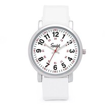 Speidel Scrub Watch for Medical Professionals with Silicone (White Silic... - $76.22