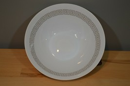 Rosenthal Continental China vegetable serving bowl Greek Key Loewy  Grey - $23.19