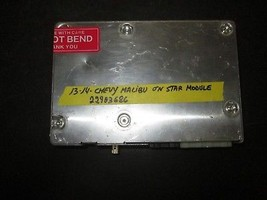 13 14 Chevy Malibu On Star Module #22903686 - $27.23
