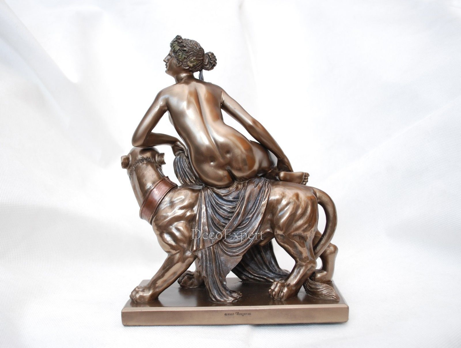Sculpture Ariadne on Panther collectible decoration * * Air Shipping Everywhere