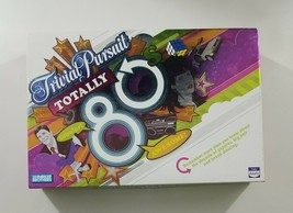 Trivial Pursuit Totally 80s Board Game 2006 Hasbro - $11.20
