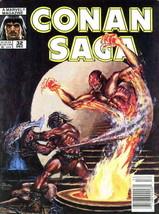 Conan Saga #32 (Newsstand) VG; Marvel | low grade comic - save on shippi... - $1.50