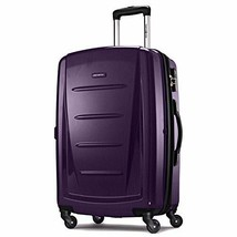 "28"" Expandable Spinner Luggage Polycarbonate TSA Lock Rolling Suitcase P... - $187.22"