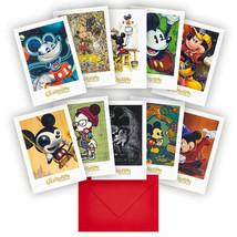 Art of Disney Mickey Mouse Celebration Note Cards Set Tin, NEW - $18.00
