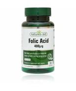 Folic Acid 90 Tablets Natures Aid - $24.84