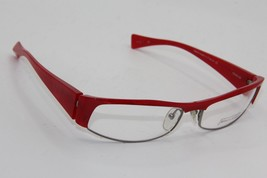 New Alain Mikli A 0340-06 Red Eyeglasses Authentic Rx A0340 60-17 W/CASE - $96.33