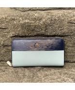 Tory Burch Robinson Color-Block Zip Continental Wallet - $193.00