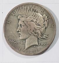 1921 Peace Silver Dollar Coin -  Lot # E 281