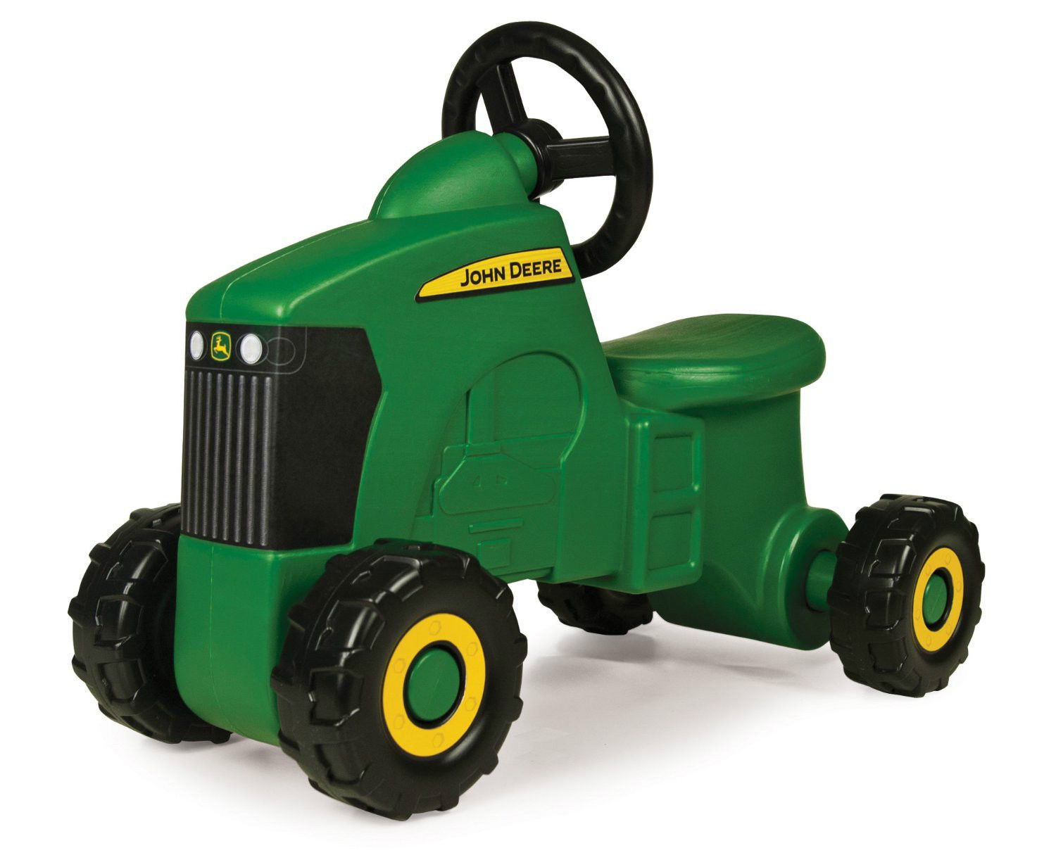 John Deere Sit-N-Scoot Tractor Toddler Kids Toy Play Ride Fun Birthday Racecar