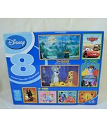 Disney Puzzle 7 Puzzles in Box Princess Cars Pirates Nemo Peter Pan Vari... - $24.99
