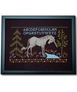 The Last Unicorn cross stitch chart Tiny Modernist Inc - $10.80