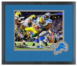 "Ndamukong Suh 2013 Detroit Lions - 11"" x 14"" Matted and Framed Photo  - $43.95"
