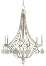 CURREY & CO. Company # 9343 Lavinia 6 Light Chandelier,  Iron and Silver... - £1,855.52 GBP