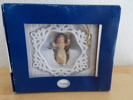 Goebel Hanging Angel Snowflake Ornament  - $25.00
