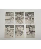 Vintage Los Angeles Kings Hockey Signature Player Photos Signed Eliot Ga... - $38.69