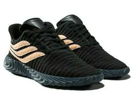 Adidas Sobakov Core Black Chalk Coral BB7674 Mens Sneakers - $74.95