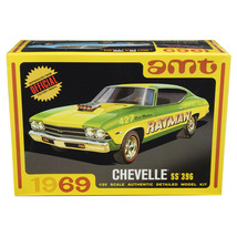 Skill 2 Model Kit 1969 Chevrolet Chevelle SS 396 3 in 1 Kit 1/25 Scale M... - $56.44