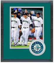 Kyle Seager 2014 Seattle Mariners - 11 x 14 Team Logo Matted/Framed Photo - $42.95