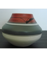 Native American Style Pottery Jar by  R Galvan,  Signed - $15.00