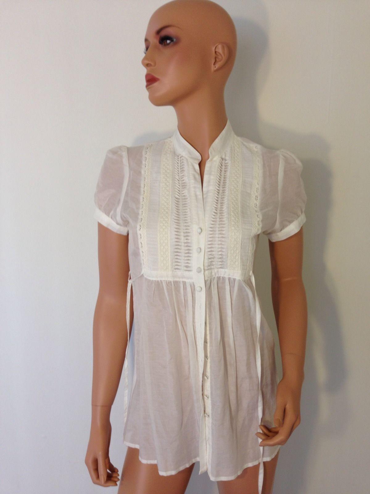 White dress shirt career button down cotton silk womens for White button down dress shirt