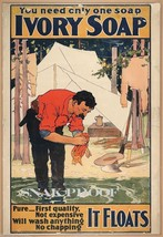 Ivory Soap Vintage Ad Poster 1896 Advertising M... - $8.90