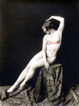 French Model Old Vintage Antique Leggy Sexy Nude Early 1900s Photo Repri... - $8.90