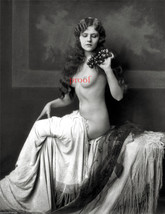 French Nude Model Exquisite Old Vintage Antique Early 1900s Photo Reprin... - $8.90