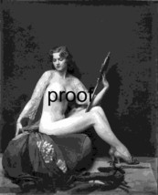 French Model Old Vintage Antique Exquiste Nude  1900-1920s Photo Reprint... - $8.66