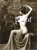 """Old French Vintage Antique Nude Photo  """"Classic Beauty"""" Pose Erotic Mode... - $8.90"""