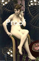 French Victorian Vintage Images Nude Risque Antique Sexy Model photo 243 - $8.90