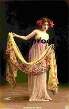 Glamour Girl La Damse du Voile Old French Nude Vintage AntiquePhoto Repr... - $8.66