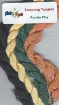 SILK FLOSS PACK for Punkin Play cross stitch chart Dinky Dyes - $14.40