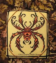 Jack Arachnid spider halloween cross stitch chart Tempting Tangles - $9.00