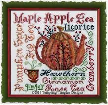 Harvest Brew cross stitch chart Tempting Tangles - $9.45