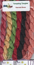 SILK FLOSS PACK for Harvest Brew cross stitch chart Dinky Dyes - $28.50