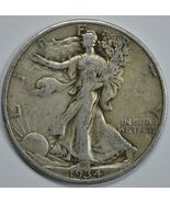 1934 P Walking liberty circulated silver half dollar - $21.00