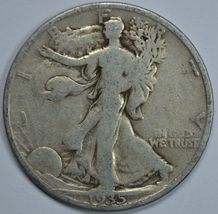 1935 S Walking liberty circulated silver half dollar - $13.50