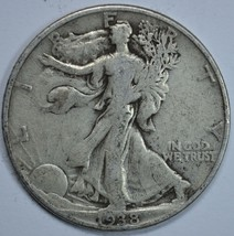 1938 P Walking liberty circulated silver half dollar - $14.00