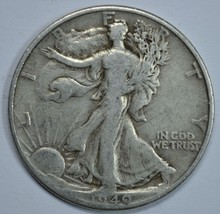 1940 P Walking liberty circulated silver half dollar - $13.75