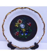 "Beautiful Vintage 10"" Decorative Plate With 24 K Gold Trim - $4.95"