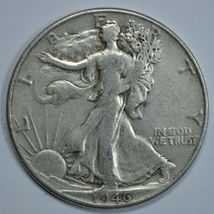 1946 P Walking liberty circulated silver half dollar - $15.75