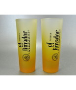 2 el Jimador Gold Frosted Tall Shooter Shot Glasses - $6.00