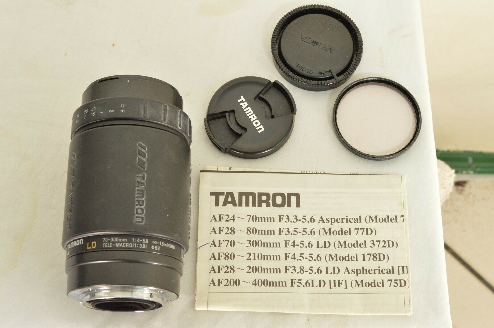 Tamron LD 70-300mm f/4.0-5.6 LD AF camera lens for Sony image 8
