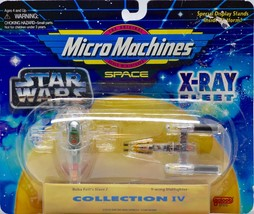 1995 Galoob / Micro Machines Space : Star Wars X-Ray Fleet Collection IV Rare - $12.99